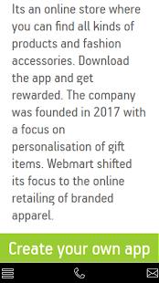 webMART - náhled