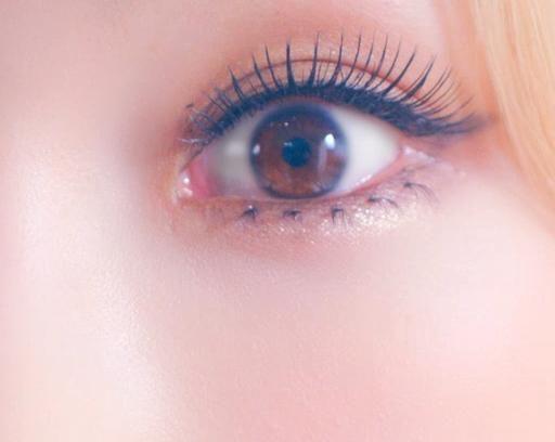 LionHeartMVの少女時代テヨンの目