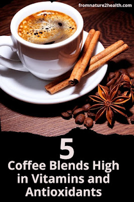 Chocolate Coffee High in Vitamins and Antioxidants, Cinnamon Coffee High in Vitamins and Antioxidants, Ginger Coffee High in Vitamins and Antioxidants, Mushrooms Coffee High in Vitamins and Antioxidants, Turmeric Coffee High in Vitamins and Antioxidants