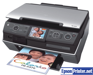 Get reset Epson PM-A970 printer program