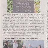 Presse Wadgasser Rundschau 37/2011