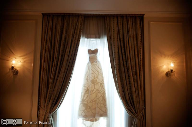 Foto de casamento 0140 de Julia e Rafael. Marcações: 28/11/2009, Carolina Herrera, Casamento Julia e Rafael, Fotos de Vestido, Rio de Janeiro, Vestido, Vestido de Noiva.