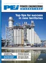 Power engineering international cover nov 2012