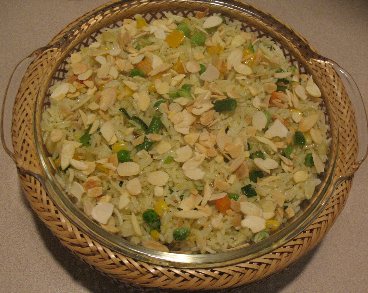 Mixed Vegetable Rice Made Easy