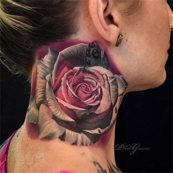 3d_rose_pescoço_tatuagem
