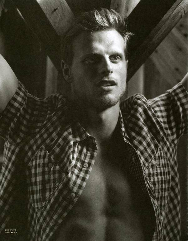 Luis Kelling @ Nous by Bruce Weber for VMan Summer 2012
