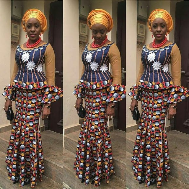 7a1a8b964c58ba ... and Blouse Styles 2018  again You re in at the appropriate post. we  accept some admirable called of Ankara brim and blouse styles that we  absolutely ...