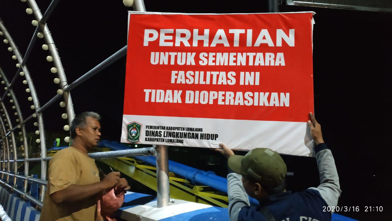 Pemkab Lumajang Tutup Sementara Fasilitas Publik di Seputaran Alun-Alun