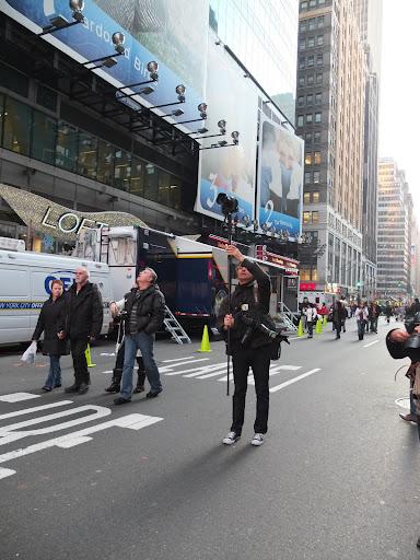大晦日のタイムズスクエアの様子
