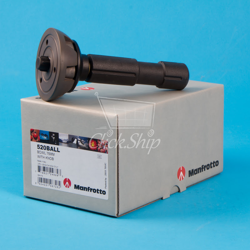 Manfrotto 520BALL 75mm Halb Kugelkopf Levelling-Ball Ersatz #3284 Halfball