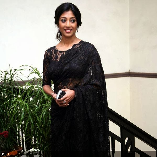Paoli Dum during a shoot warp up party of movie Parapar, held in Kolkata.