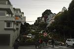 Die berühmte Lombard Street - als Anwohner würden mich die ganzen Touris aber ziemlich stören :-)