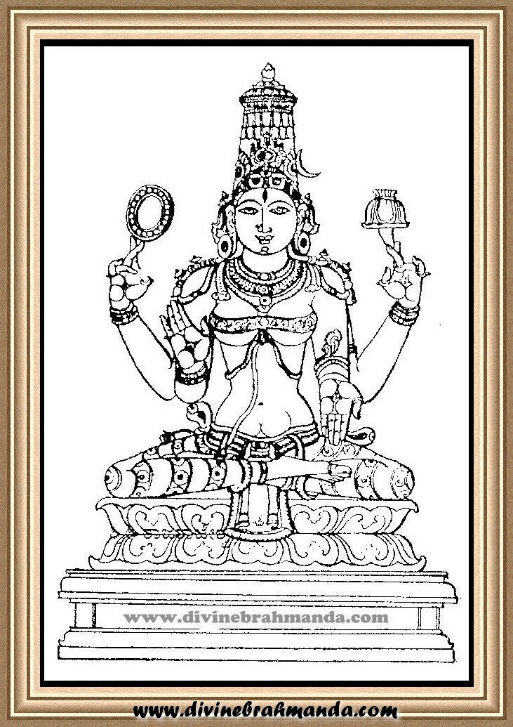 Soundarya Lahari Sloka, Yantra & Goddess For Mastery Over Words, Knowledge of Science - 17