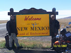 Ok . . . so we're going to New Mexico?