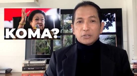 PDIP Depok Polisikan Akun Youtube Hersubeno Arif Terkait Hoaks Megawati Sakit