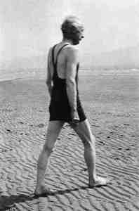 Frederick Matthias Alexander On Beach, Frederick Matthias Alexander