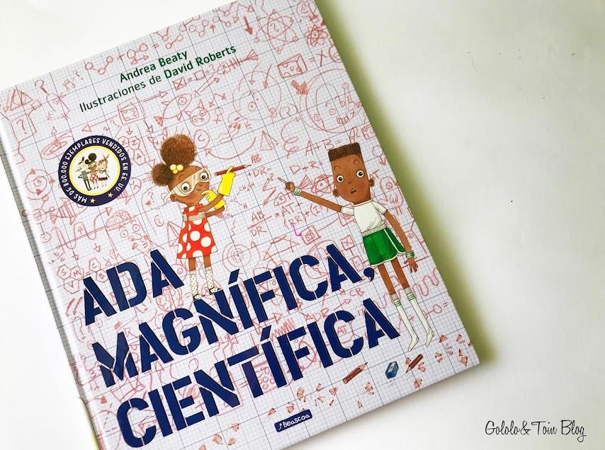 Álbum ilustrado Ada Magnifica, cientifica