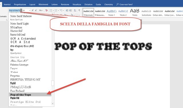 scelta-font-word