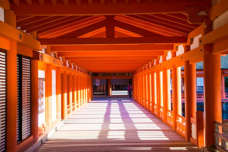 Miyajima Itsukushima Shrine East Corridor2
