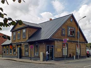 Photo: Namas Liepojoje Kuršu ir Ruožu gatvių sankryžoje, čia buvo Aleksandro vaistinė.