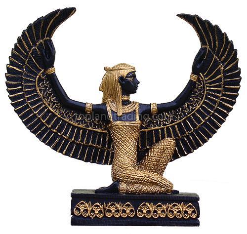 Isis Kneeling Blk, Egyptian Magic