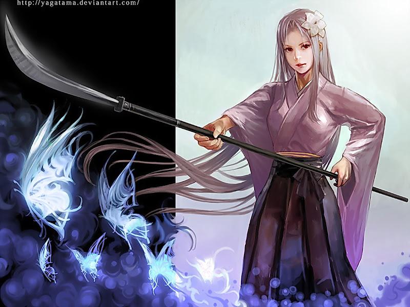 Dead Assassin Of Nature, Magic Samurai Beauties