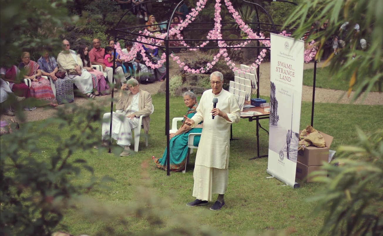 50th Anniversary Garden Opening and Dedication to Srila Prabhupada and his Disciples thumbnail