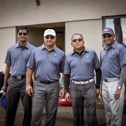 SAGA OPEN 2014 Golfers In Action