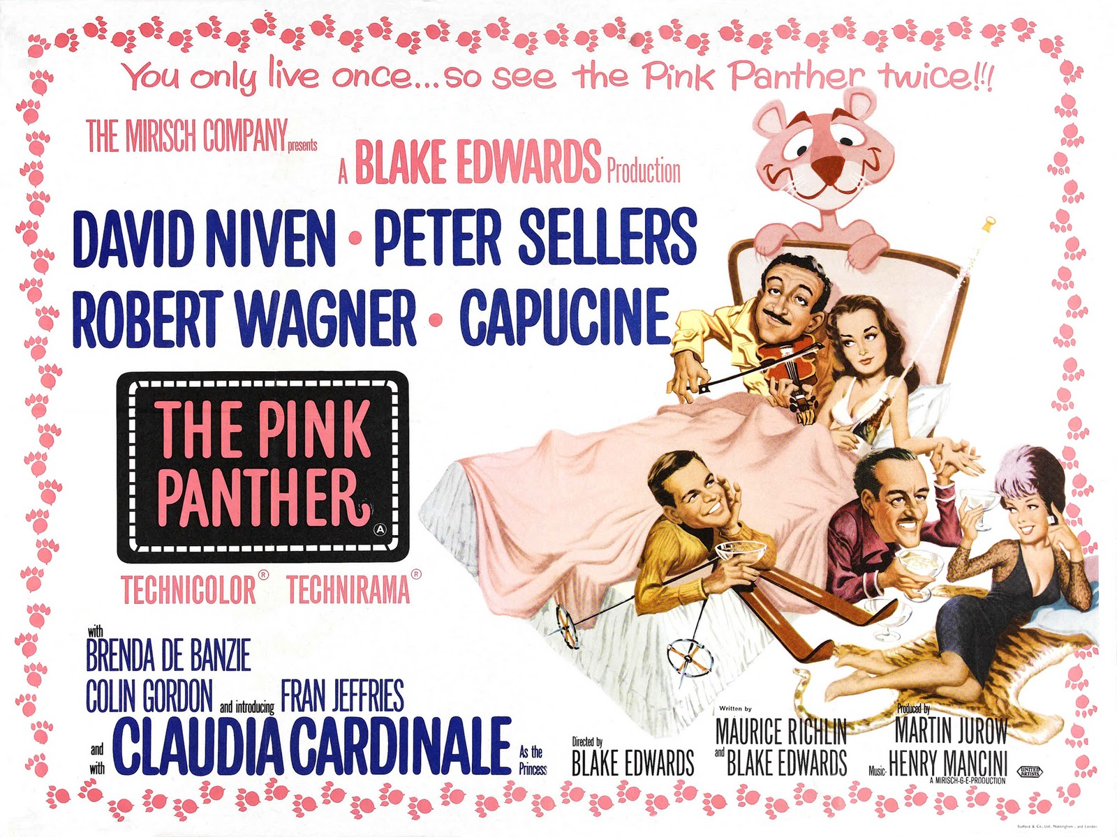 The Pink Panther Film Collection The Pink Panther A Shot In the Dark Strikes Again Revenge Of Trail Of the Pink Panther Movie HD free download 720p