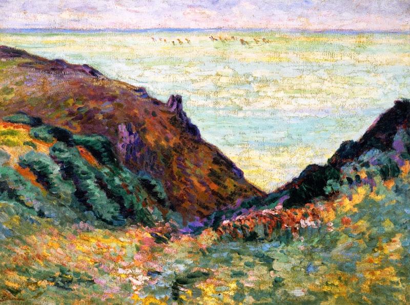 Armand Guillaumin - Les Carolles, 1900