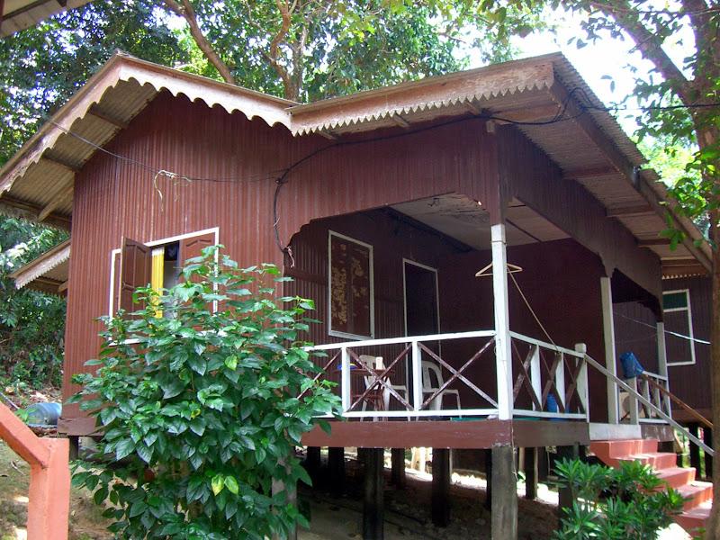 Unser Bungalow auf Pulau Kecil