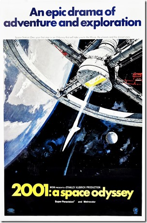 2001 A Space Odyssey (1968) poster by Robert McCall