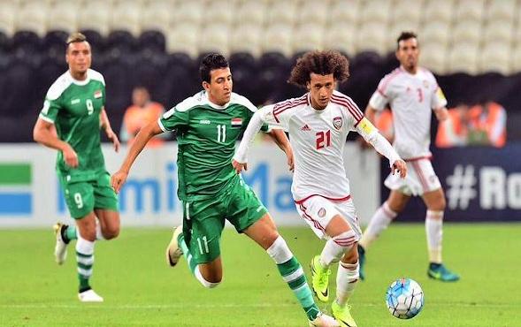 موعد مباراة منتخب العراقي مع نظيره الاماراتي.