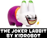 "DC Comics x Kidrobot The Joker 7"" Labbit Vinyl Figure"