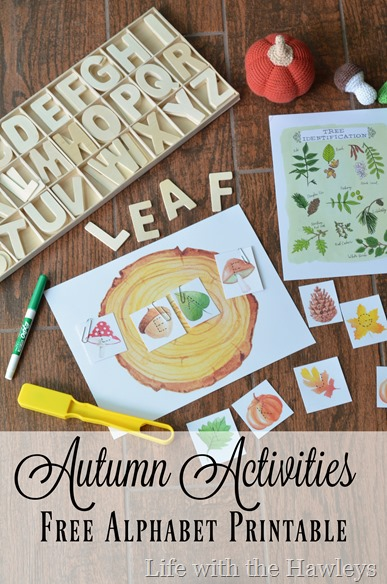 Autumn Activities- Life with the Hawleys