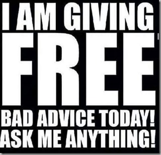 free bad advice
