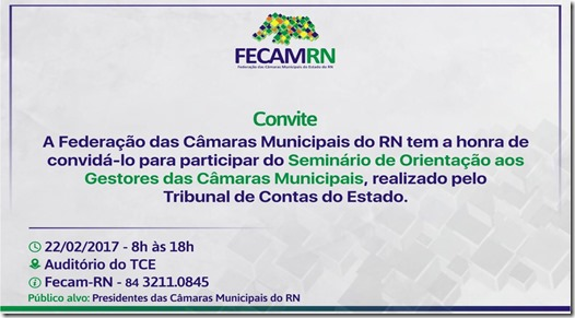 Convite Fecam