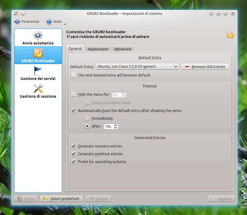 GRUB2 Bootloader Editor