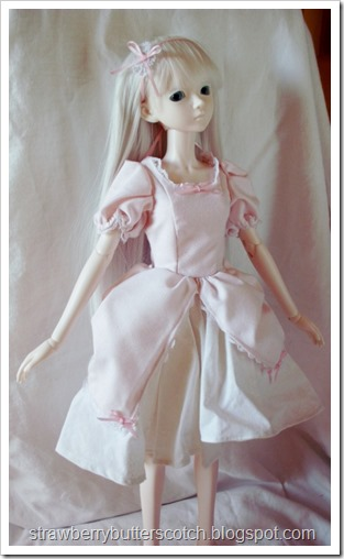 Pink Princessy Dress for a Ball Jointed Doll