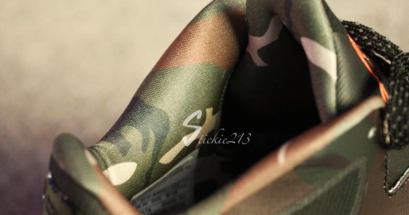 newest collection bd704 c8737 ... Nike LeBron 9 Low 8220War Vet8221 Camo PE 8211 Pics amp Video ...