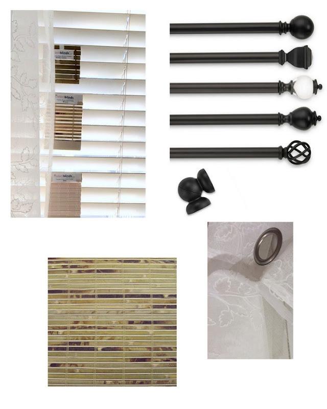 Kitchen Bay Window Makeover with Bamboo Shades via homework (7)