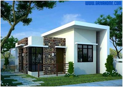Model Rumah Minimalis Sederhana Tipe 21