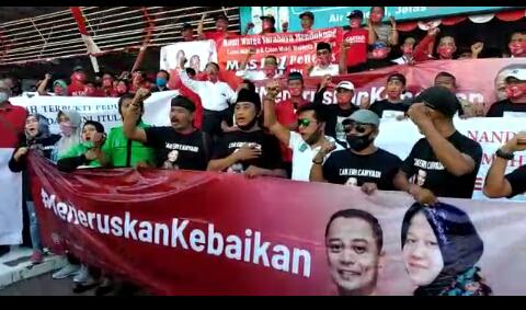 Tumplek Blek, Elemen Surabaya Dukung Eri Cahyadi Cawali