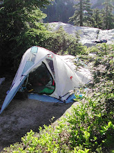 Photo: Gratuitous tent shot