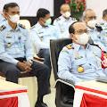 Dalam Rangkaian HDKD 2021, Kakanwil Kemenkumham Aceh mengikuti Webinar Nasional