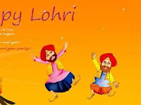 Happy Lohri Greeting Wallpapers Images