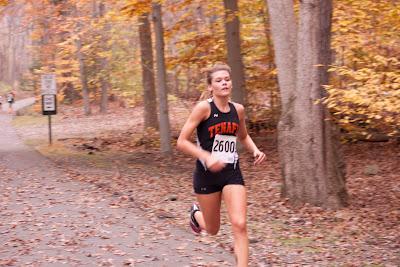 Josette Norris finishing second.