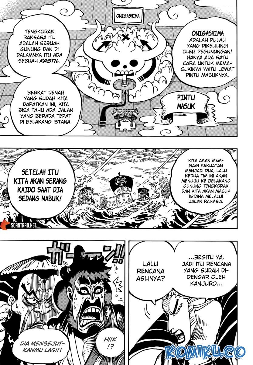 Baca One Piece 977 : piece, Komik, Piece, Chapter, Bahasa, Indonesia, UNION