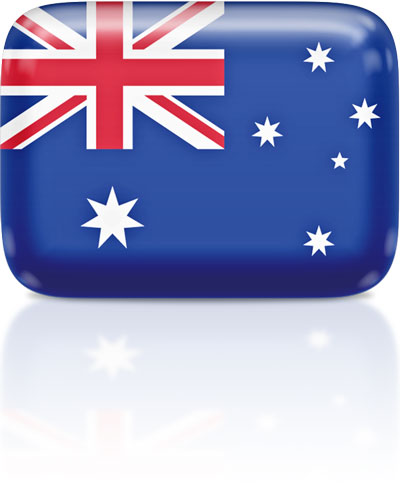 Australian flag clipart rectangular