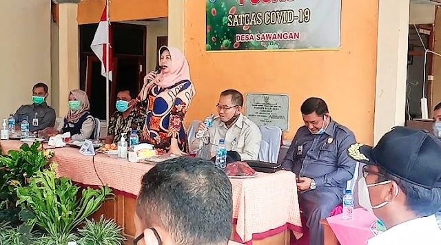 Wakil Ketua DPRD Cilacap Beserta Anggota Komisi C Melakukan Kunja di Desa Sawangan